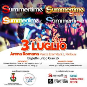 Summertime Tribe in concerto